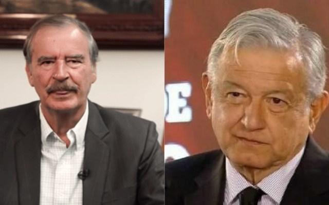 Fox sugiere documentar todo lo dicho por López Obrador en conferencias - Vicente Fox y AMLO periodistas