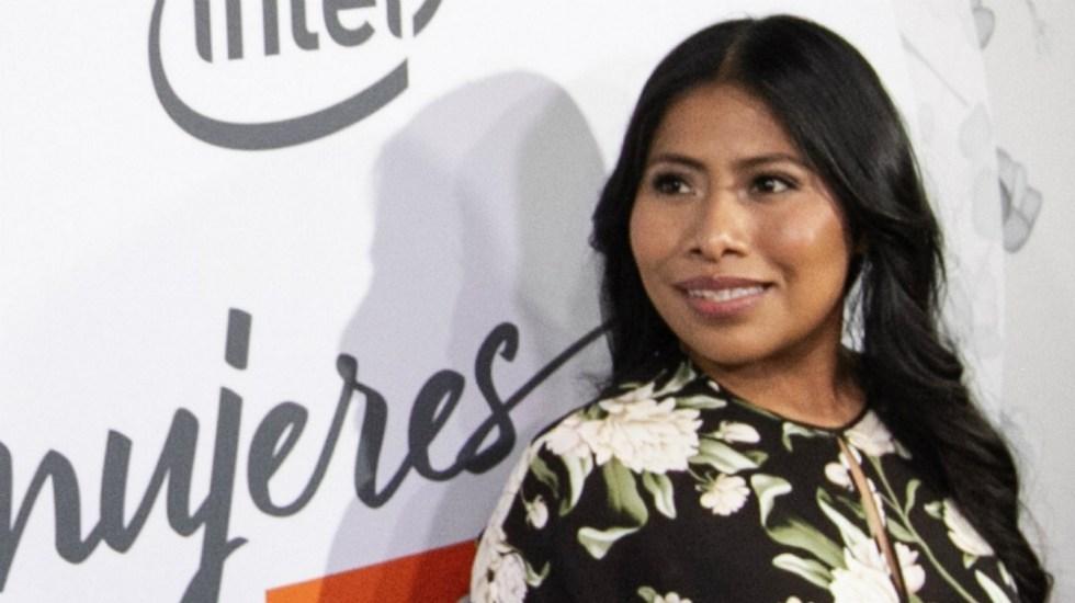 Estoy orgullosa de ser una indígena oaxaqueña: Yalitza Aparicio - Foto de Notimex