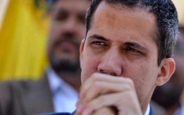 No seré intimidado con la detención de mi jefe de despacho: Guaidó - Juan Guaidó, autoproclamado presidente interino de Venezuela. Foto de AFP.