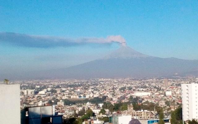 Elevan a Fase 3 alerta volcánica del Popocatépetl - Foto de Mari Loli Pellón