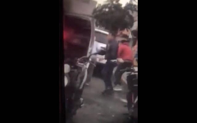 #Video Intento de secuestro termina en asesinato en Álvaro Obregón - Captura de pantalla