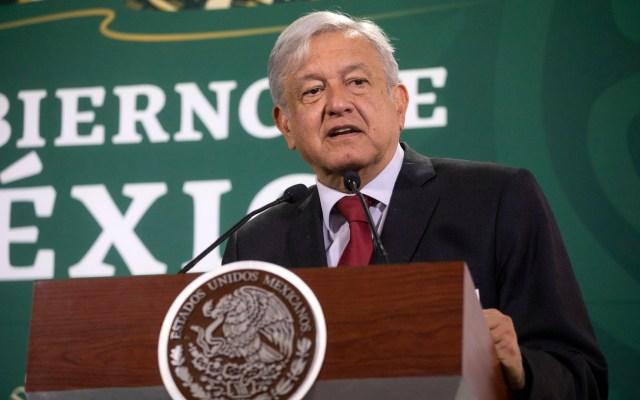 Fox y Calderón tendrán seguridad de militares: López Obrador - López Obrador. Foto de Notimex- Eduardo Jaramillo.