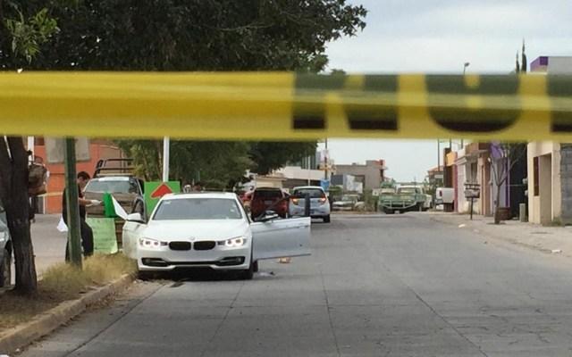 Colegio Médico de Sinaloa lamenta asesinato de doctor - Escena del crimen de doctor en Sinaloa. Foto de Línea Directa