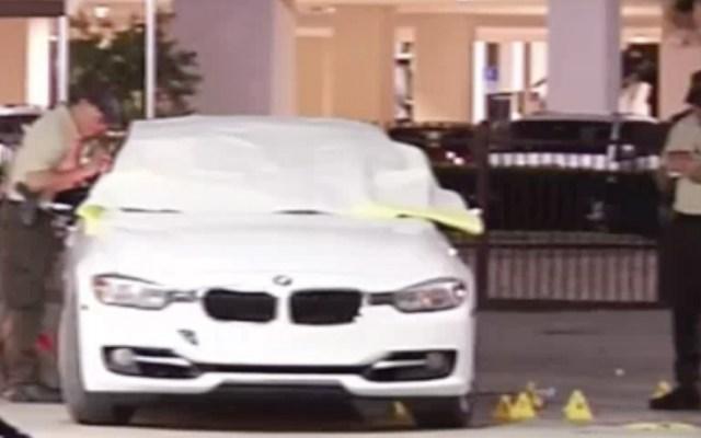 Encuentran a dos personas baleadas dentro de BMW en Miami - Foto de NBC Miami