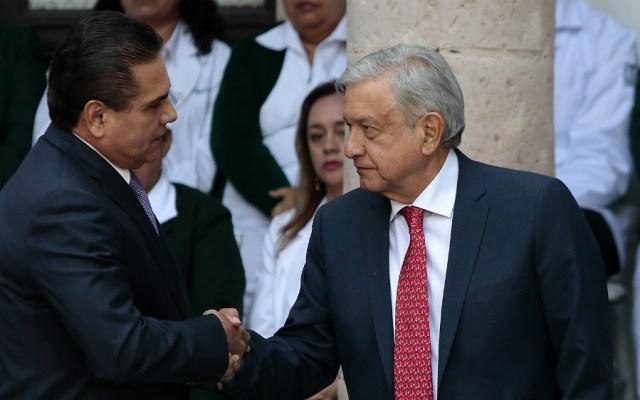 Urge que gobierno federal resuelva tema educativo en Michoacán: Aureoles - Foto de Notimex