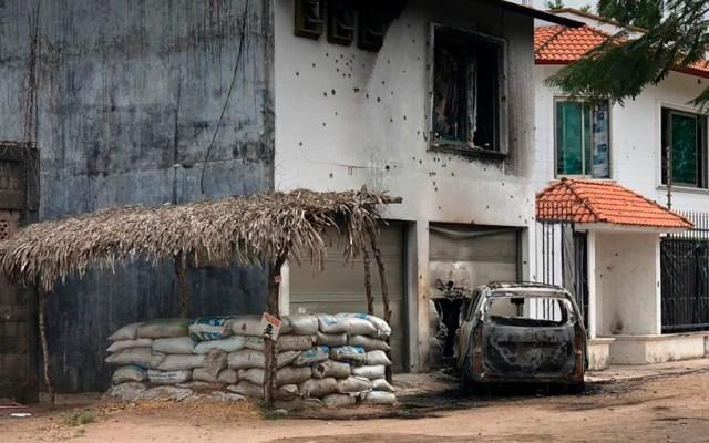 Atacan base de Fuerza Civil en Jáltipan, Veracruz - Foto de Milenio