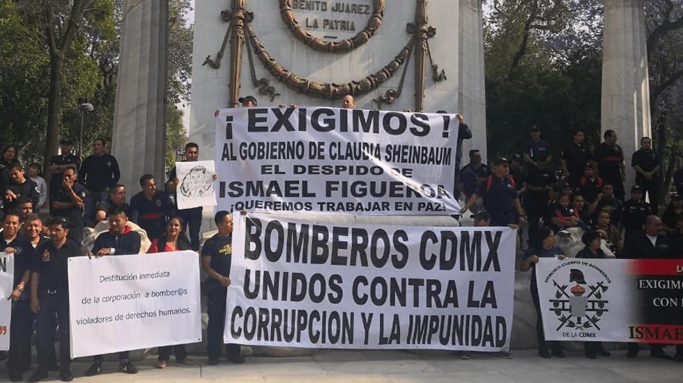 Se compromete Gobierno capitalino a resolver irregularidades en Cuerpo de Bomberos - Foto de López-Dóriga Digital