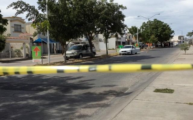 Febrero, el más violento en la historia de México - Calle acordonada por el homicidio. Foto de Línea Directa