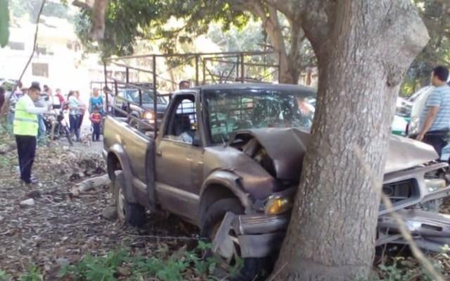 Choque de vehículo deja 16 estudiantes heridos en Veracruz - Foto de Primer Párrafo