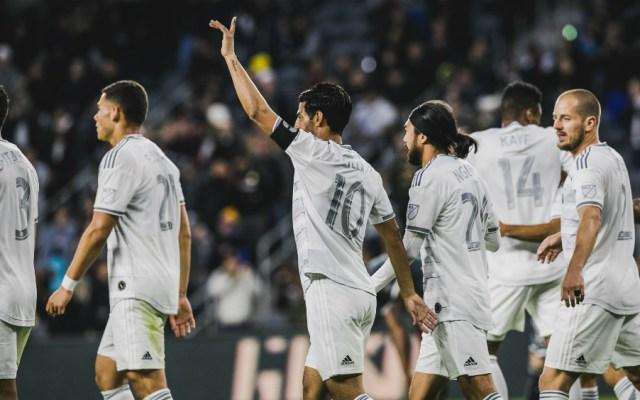 """Carlos Vela anota """"hat-trick"""" y Los Ángeles aplasta a San José - Foto de LAFC"""