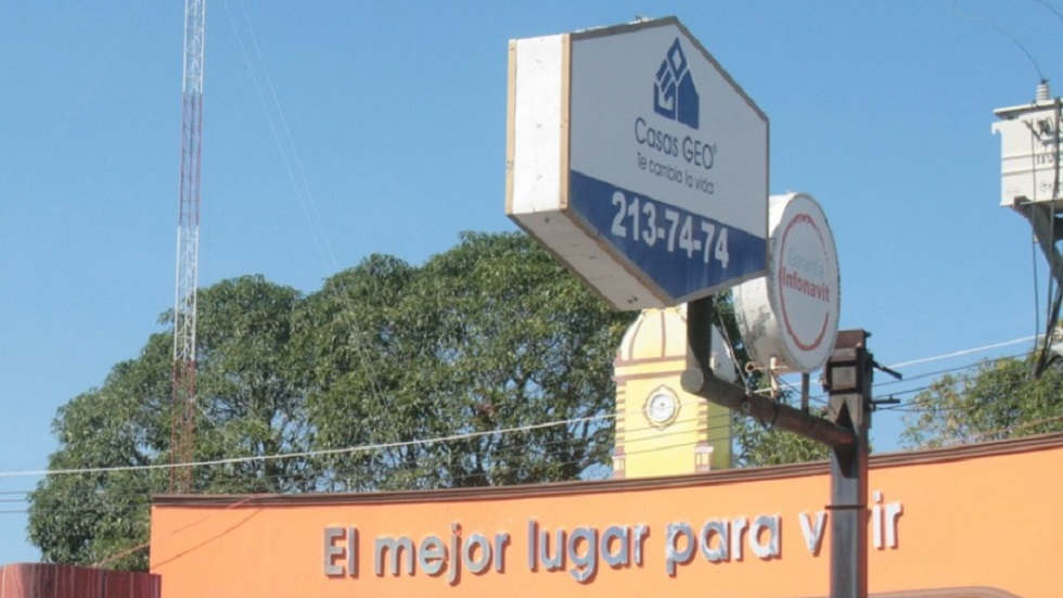 Juez civil declara quiebra de Casas Geo