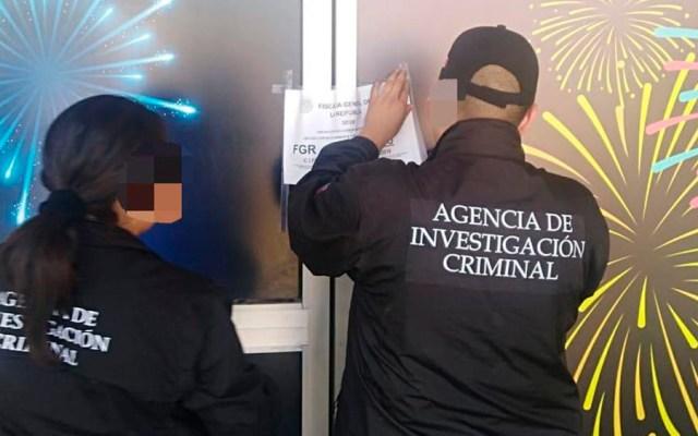 Catean casino clandestino en Sinaloa - Foto de FGR