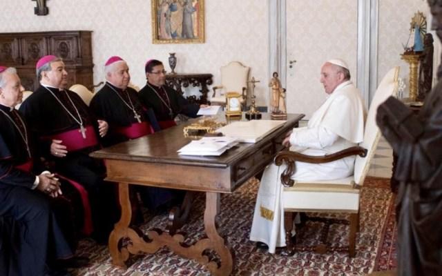 """Papa Francisco quiere """"procesos impecables"""" con respecto a abusos en México - Foto de @IglesiaMexico"""