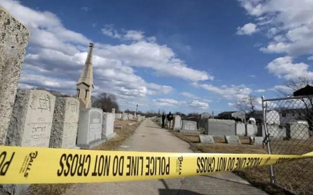Vandalizan cementerio judío en Massachusetts - cementerio
