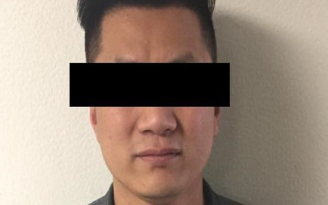 Capturan a sujeto buscado por Interpol México - Chen P., detenido ante Notificación Roja de Interpol México. Foto de FGR