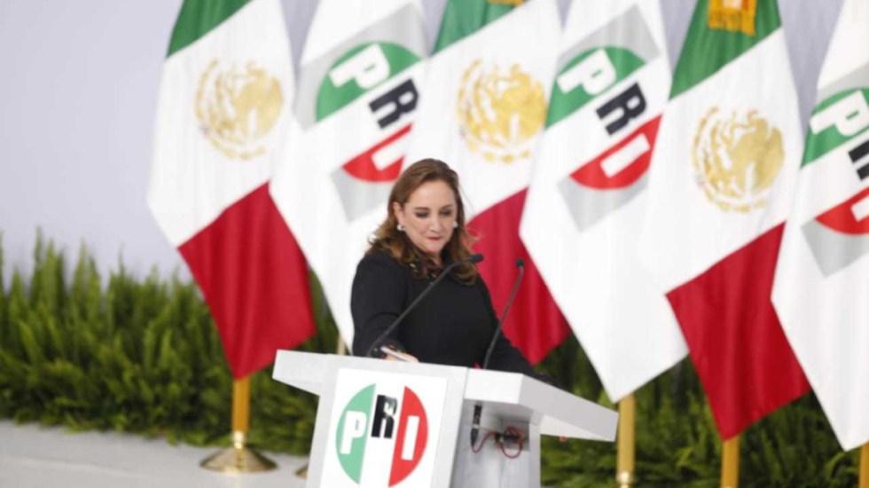 """Claudia Ruiz Massieu niega """"línea"""" en elección interna del PRI - claudia ruiz massieu elección interna línea"""