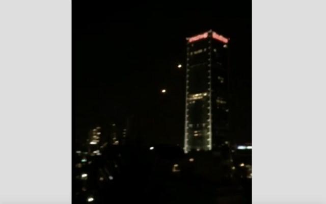 Disparan dos cohetes desde Gaza hacia el área de Tel Aviv - Foto de @IsraelinSpanish