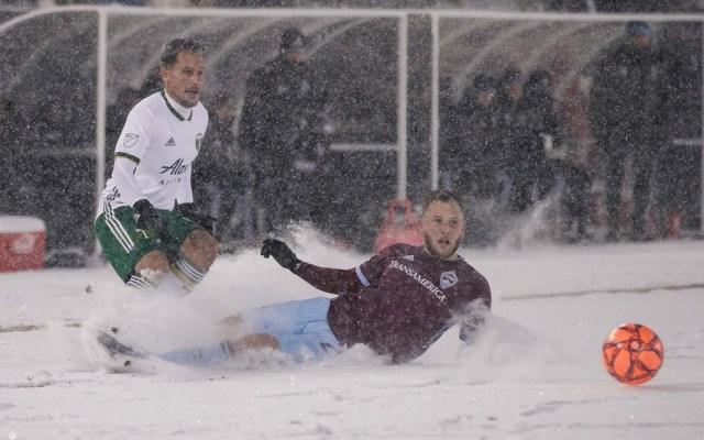 Colorado y Portland disputan el partido más frío de la MLS - Foto de @ColoradoRapids