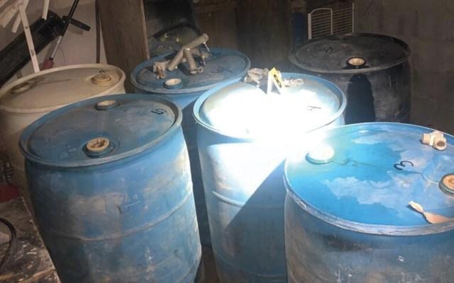 Decomisan mil 600 litros de combustible robado en Baja California - Baja California