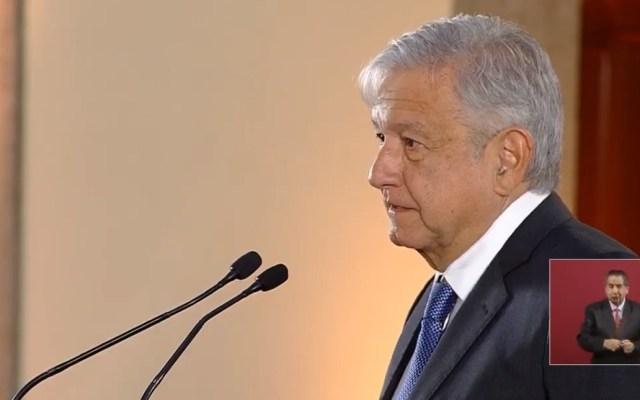 López Obrador llama al debate a la CNTE - Conferencia AMLO 21 de marzo. Captura de pantalla
