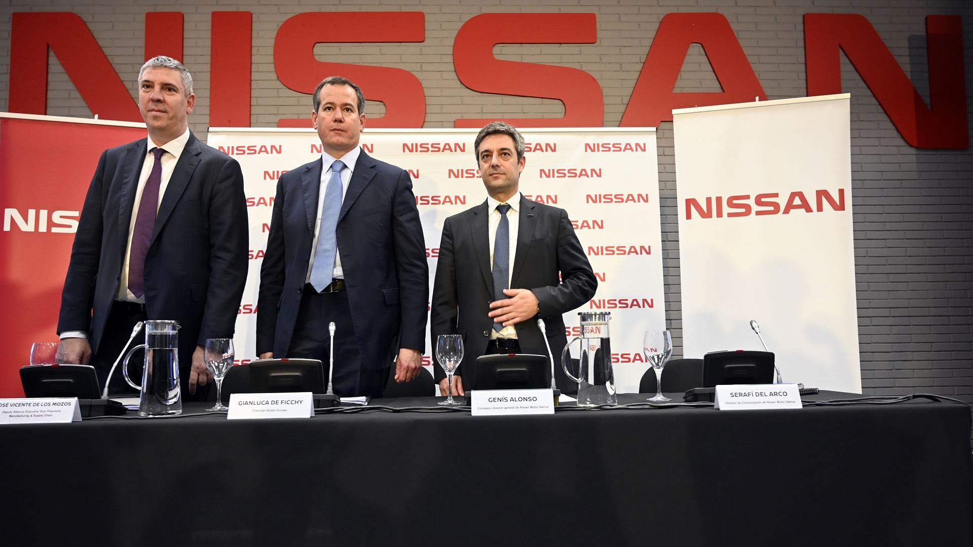 Conferencia de Nissan Europa en Barcelona. Foto de AFP / Lluis Gene