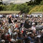 Homenaje nacional en Nueva Zelanda a víctimas de la masacre en mezquitas - Foto de AFP