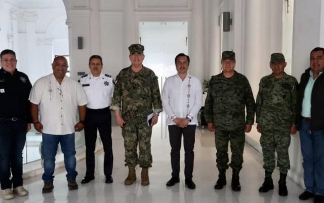 Ataques, acciones desesperadas de grupos delincuenciales: gobernador de Veracruz - Foto de @CuitlahuacGJ