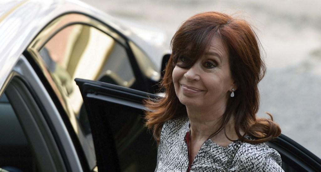 Confirman prisión preventiva para Cristina Fernández por encubrimiento - Cristina Fernández. Foto de AFP