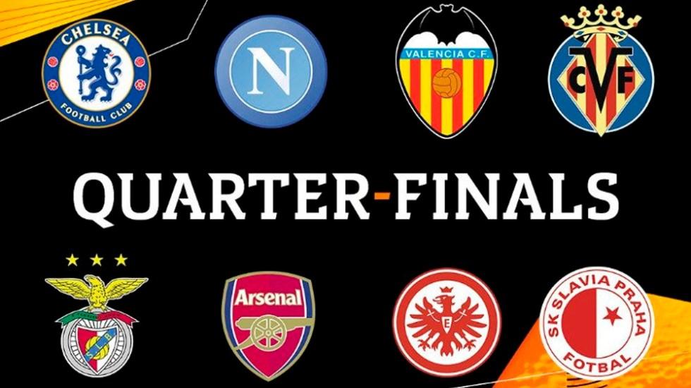 Definidos los cuartos de final de la Europa League - Foto de @EuropaLeague