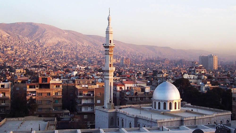 Ciudad de Damasco, en Siria. Foto de Evenaia