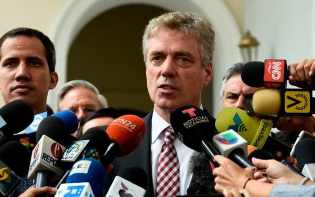 UE espera que Venezuela reconsidere expulsión de embajador alemán - Foto de AFP