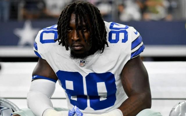 DeMarcus Lawrence seguirá como jugador franquicia de los Cowboys - DeMarcus Lawrence. Foto de Dallas Cowboys