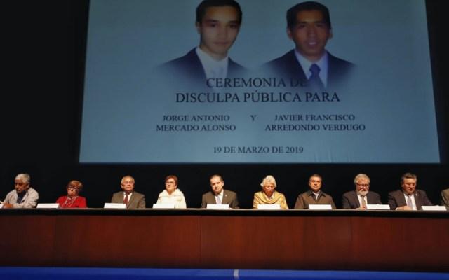 Gobierno de México se disculpa por asesinato de estudiantes del Tec - disculpa pública asesinato jorge y javier