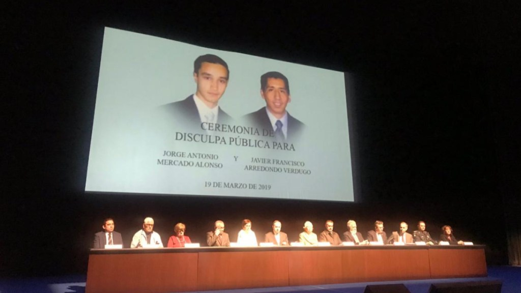 Disculpa pública reivindica el nombre de estudiantes asesinados: CNDH - disculpa jorge y javier cndh
