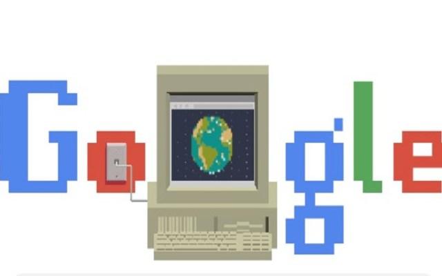 Google recuerda que hace 30 años se inventó la World Wide Web - Doodle de la World Wide Web. Foto de Google