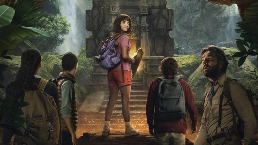 El nuevo póster de 'Dora and the Lost City Gold' - Captura de pantalla