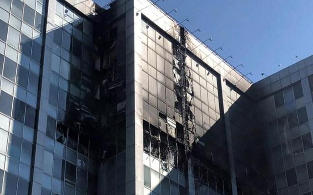 UNAM analiza estabilidad de edificio de Conagua tras incendio - Foto de Notimex