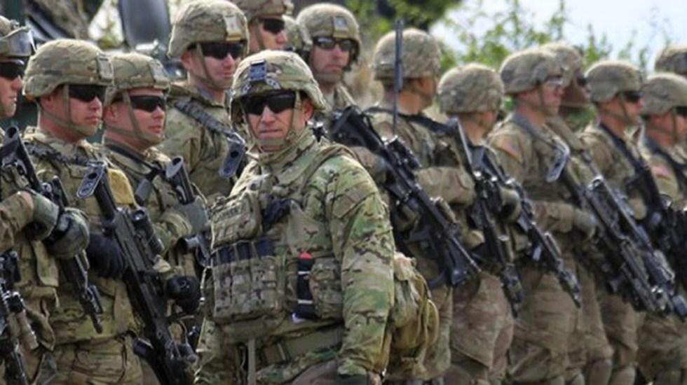 Más de mil militares estadounidenses están contagiados de COVID-19 - El Pentágono detalló que actualmente hay mil 132 militares activos estadounidenses con coronavirus, comparado con 978 del viernes