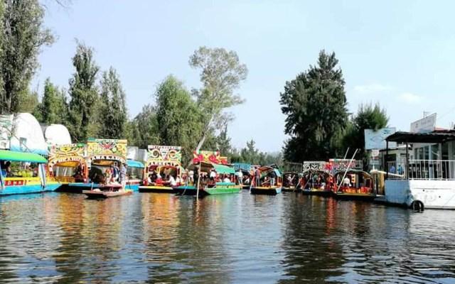 Hombre muere ahogado en canal de Xochimilco - Embarcadero Nativitas de Xochimilco. Foto de @jesus.sanchezperez.9619