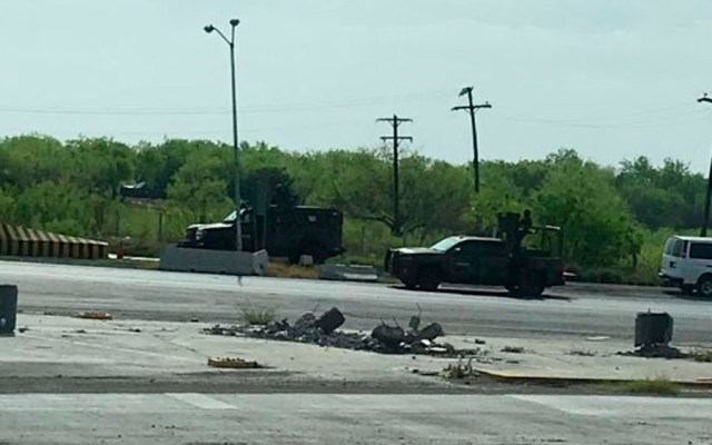Enfrentamientos dejan seis muertos en Nuevo Laredo - Foto de @Kaliman_TR
