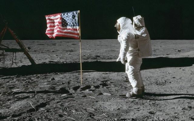 Estados Unidos anuncia planes de regresar a la Luna - Estados Unidos en la Luna. Foto de NASA