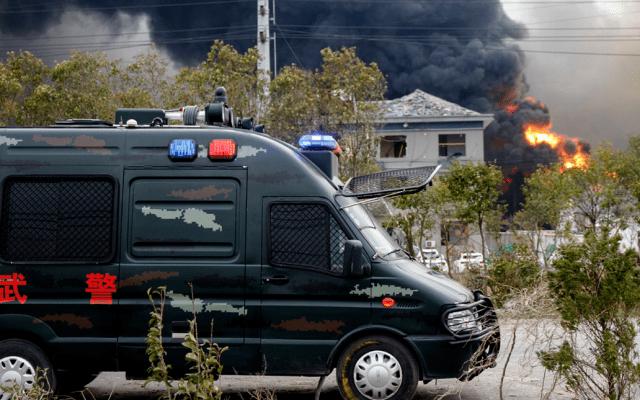 Explosión en planta química de China deja al menos seis muertos - Foto de AFP