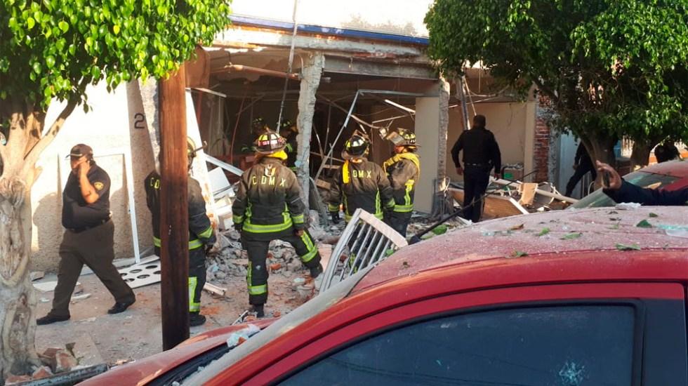 Explosión en clínica deja 16 heridos en Venustiano Carranza - Explosión en clínica deja 16 heridos en Venustiano Carranza