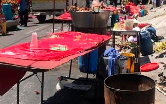 Explosión en tianguis deja al menos 10 heridos en Nezahualcóyotl - Foto de Hoy Estado