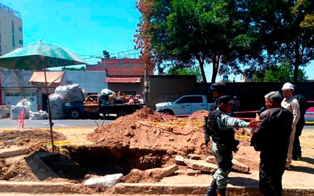 Fuga de combustible en Azcapotzalco - Foto de Quadratín