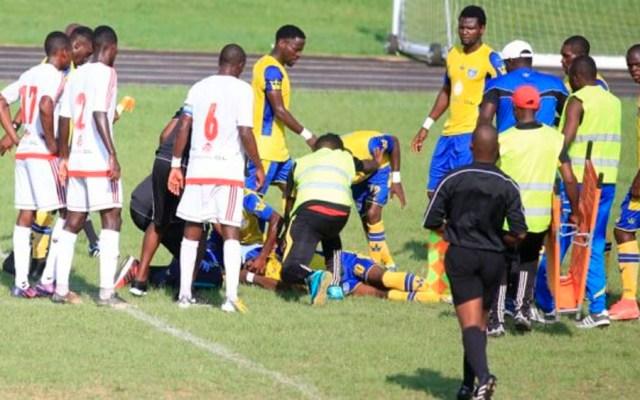 Muere futbolista durante partido en Gabón - Foto de foot241