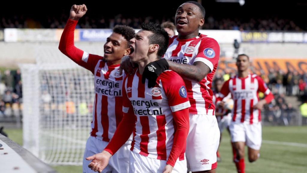 Con gol del Chucky Lozano, el PSV se mantiene como líder de la Eredivisie - gol Chucky Lozano