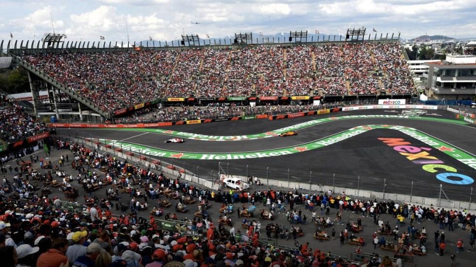 GP de México pierde derecho preferencial para fecha de la Fórmula 1 - Gran Premio de México. Foto de @mexicogp