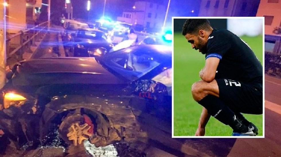 Futbolista francés ebrio choca tras huir de control policial - Foto de @InterNapoli