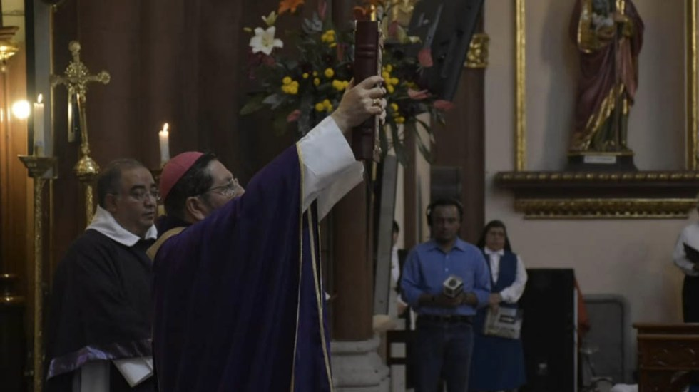 """Mujeres ahora se visten como cualquier """"varoncito"""": Arzobispo de Xalapa - Hipólito Reyes Larios. Foto de Quadratín/Ricardo Flores"""